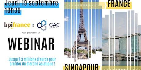 Webinar BPI x GAC : Comment profiter du marché asiatique ? billets