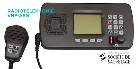 Radiotéléphonie VHF-ASN - Laval (20-24) billets