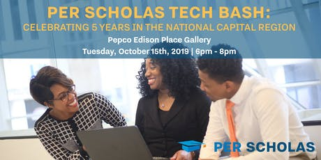 Per Scholas Tech Bash: Celebrating 5 Years in the National Capital Region tickets