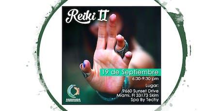 Reiki II tickets