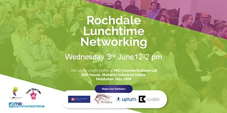 Rochdale Doing Biz For Yourself Lunchtime Networking  tickets