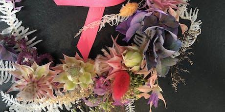 Flower Crown & Boutonniere Workshop Tickets