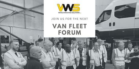 Van Fleet Forum - Aerospace | Bristol tickets