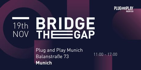 Insurtech Europe Batch 3 - Bridge the Gap Tickets