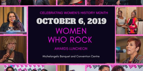 Women Who Rock Awards Luncheon 2019 tickets
