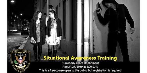 Situational Awareness and Safety Class