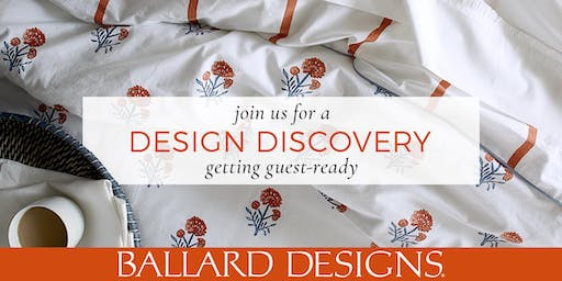 Preston Royal Design Discovery - Getting Guest Ready - Making Your Guest Room Your Best Room