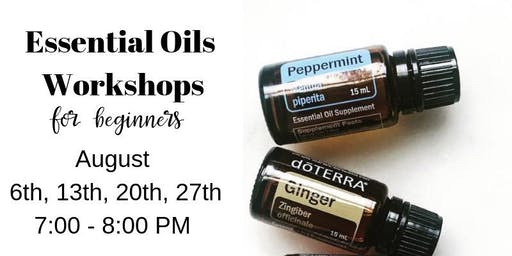 Essential Oils Workshop for Beginners