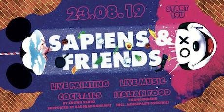 Sapiens & Friends Editie 2 billets