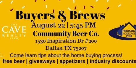 Home Buyers and Brew tickets