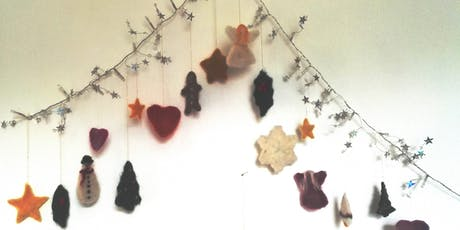 Felted Christmas Decorations with Laryna Wuppermann tickets