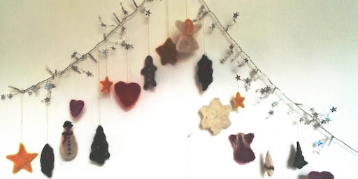 Felted Christmas Decorations with Laryna Wuppermann