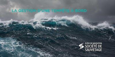 La gestion d'une tempête à bord (20-36)
