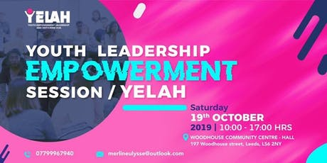 YOUTH LEADERSHIP EMPOWERMENT SESSION. tickets