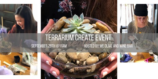 Terrariums + Wine Create Event - Salt Lake City