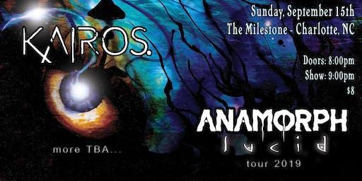 KAIROS., ANAMORPH, CURIOSITY KILLS & PRIMORDIAL TIDES at The Milestone Club