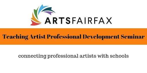 Teaching Artist Professional Development Seminar - 4 days