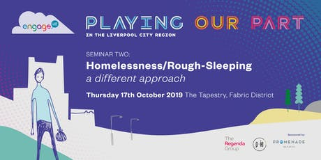 Homelessness and Rough Sleeping in the City Region tickets