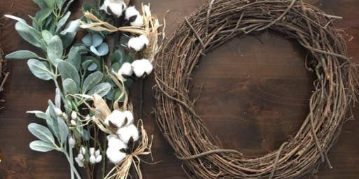 Wine & Wreaths Workshop