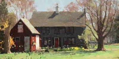 Painting en Plein Air and In-Studio