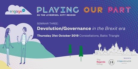 Devolution and Governance in the City Region tickets