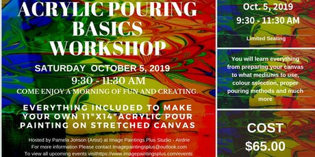 Acrylic Pouring Basics Workshop tickets