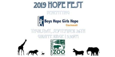 HopeFest 2019 tickets