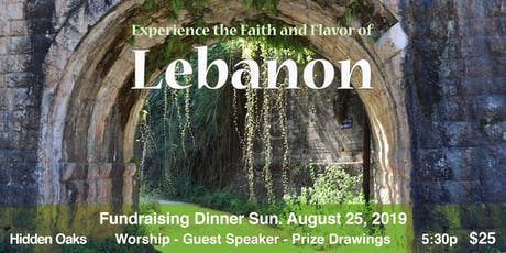 Experience the Faith and Flavor of Lebanon tickets