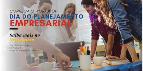 Dia do Planejamento Empresarial ingressos