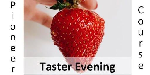 Lay Pioneer Taster Evening