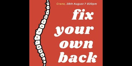 Fix Your Own Back! Movement & Mobility Workshop by Quantum tickets