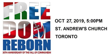 Freedom Reborn. Celebrating 30th Anniversary of the Fall of Communism tickets