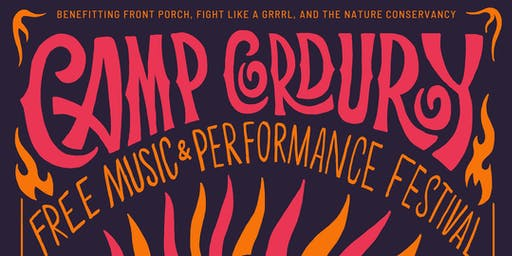 Camp Corduroy Free Music & Performance Fest - Aug. 24 & 25
