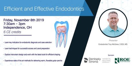 Efficient and Effective Endodontics | Featuring Endodontist Troy McGrew, DDS, MS  tickets