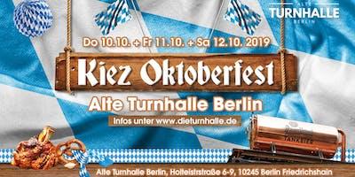 Das Kiezoktoberfest in der Alten Turnhalle Berlin
