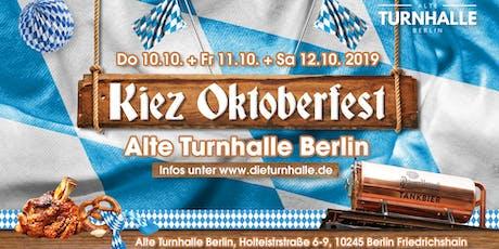 Das Kiezoktoberfest in der Alten Turnhalle Berlin Tickets