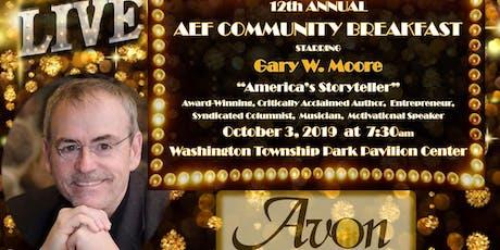 AEF 12th Annual Breakfast tickets