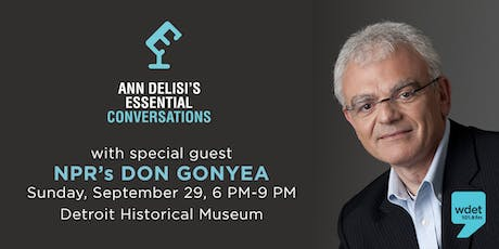 Ann Delisi's Essential Conversation with NPR's Don Gonyea tickets