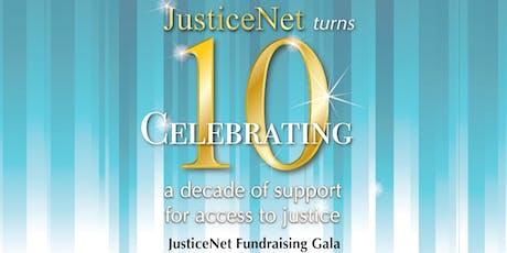 JusticeNet Fundraising Gala tickets