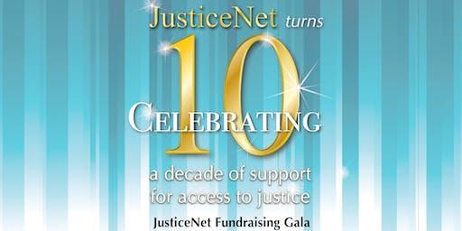 JusticeNet Fundraising Gala