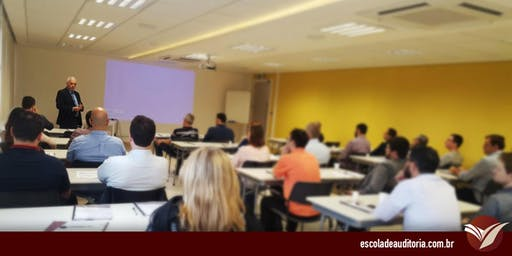 Curso de Auditoria Interna, Controle Interno e Gestão de Riscos - Curitiba, PR - 11 e 12/dez