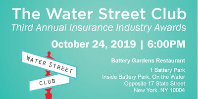 The Water Street Club's Third Annual Insurance Industry Awards Dinner