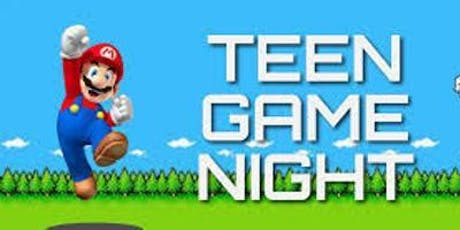 Teen Game Night tickets