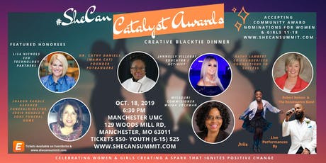 Catalyst Awards #SheCan Summit tickets
