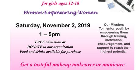 Girls Makeup Expo-Advance registration through our website: www.mittfl.org tickets