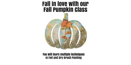 Technique Tuesday - Fall Pumpkin tickets