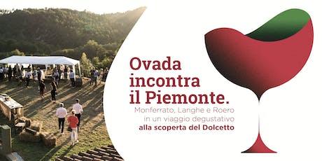 Ovada incontra il Piemonte biglietti