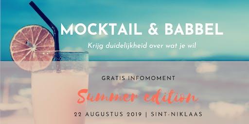 Mocktail & Babbel: Krijg duidelijkheid over wat je wil in je loopbaan