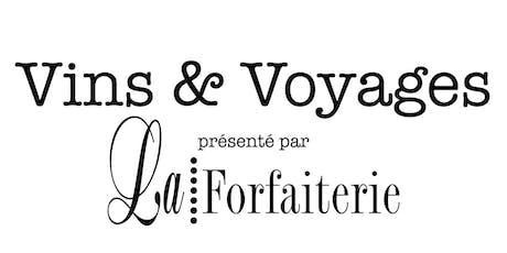 Vins & Voyages tickets