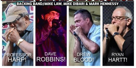 Northeast Blues Harmonica Showcase tickets
